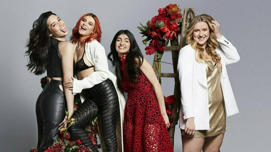 """Alex, Romina, Soulin und Dascha (v.l.n.r.): Eine von ihnen wird """"Germany's next Topmodel"""". (jru/spot)"""