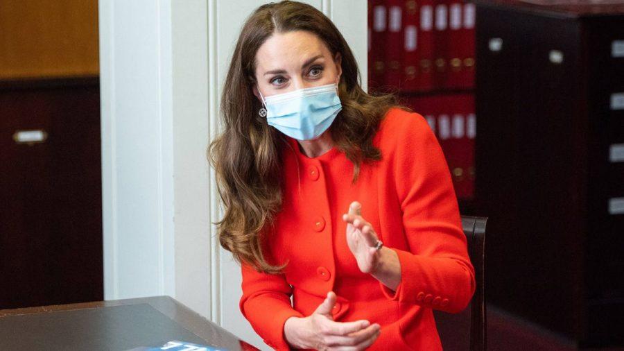 Herzogin Catherine holt sich Fototipps von Expertin