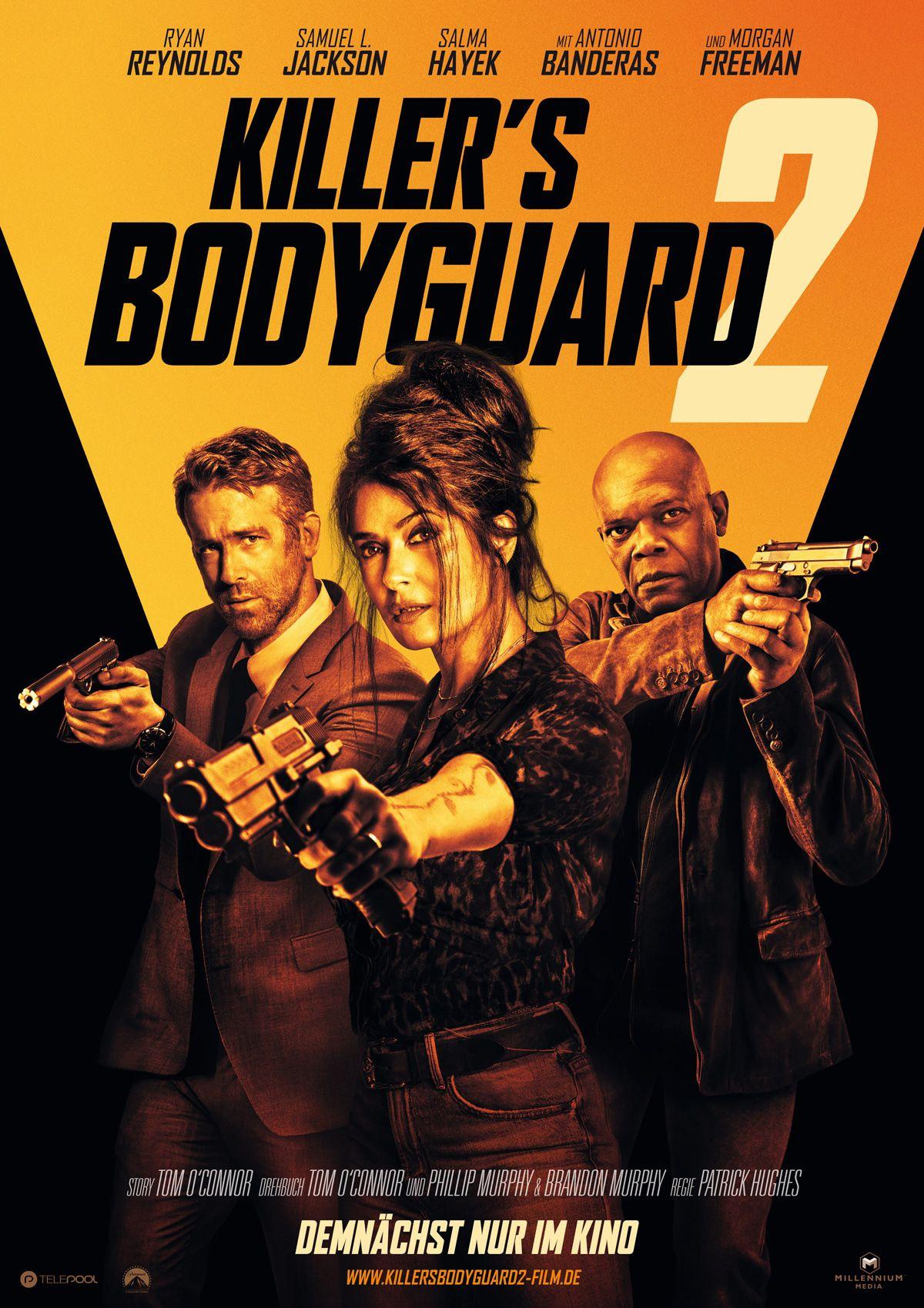"""Ryan Reynolds, Samuel L. Jackson in """"Killers Bodyguard 2"""""""