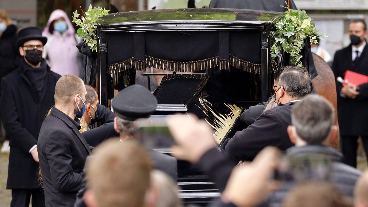 Willi Herren: Das sind die Bilder von der Beerdigung