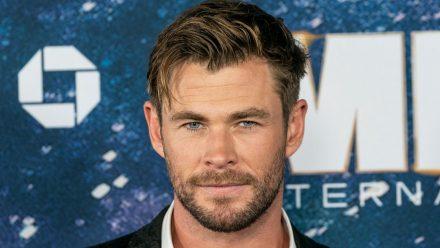 """Chris Hemsworth gibt einen Vorgeschmack auf den neuen """"Thor""""-Film. (ili/spot)"""