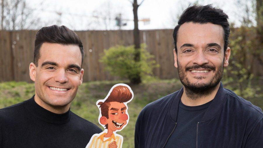 """Stefano und Giovanni Zarrella sind im neuen Pixar-Film """"Luca"""" zu hören. (sob/spot)"""