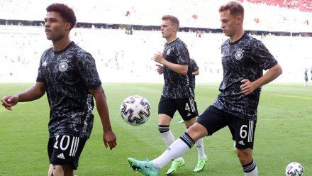 Nicht nur mit dem Ball begeistern die DFB-Stars. (hub/spot)