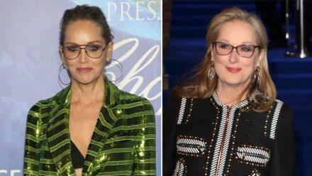 Für Sharon Stone (l.) hat der Hype um Meryl Streep ungesunde Ausmaße angenommen. (stk/spot)