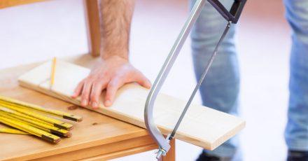Gute Planung und hochwertige Werkzeuge sind beim Heimwerken gute Voraussetzungen, um Unfällen vorzubeugen.