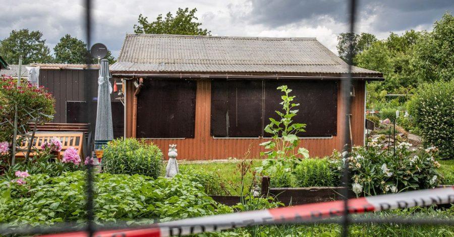 Die Laube am Stadtrand ist einer der Tatorte im Missbrauchskomplex Münster.