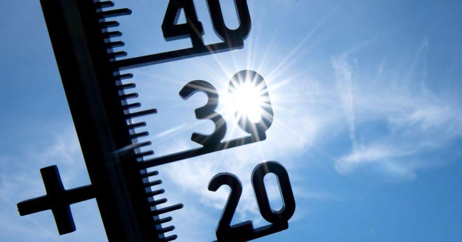 Laut einer Umfrage sorgt sich jeder Zweite vor einer Zunahme der Hitzeperioden.