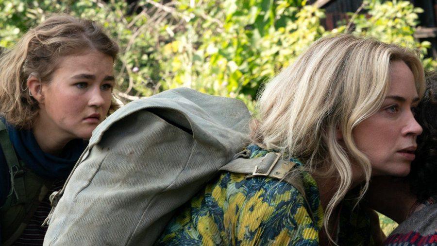 """Evelyn (Emily Blunt) und ihre Kinder kämpfen auch in """"A Quiet Place 2"""" ums blanke Überleben. (stk/spot)"""