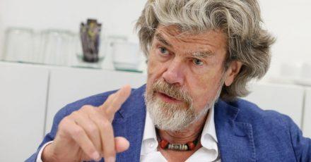 Der Südtiroler Bergsteiger Reinhold Messner.