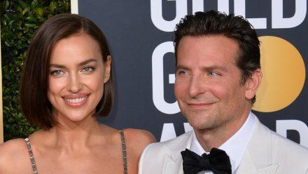 Irina Shayk und Bradley Cooper bei den Golden Globes 2019. (nra/spot)