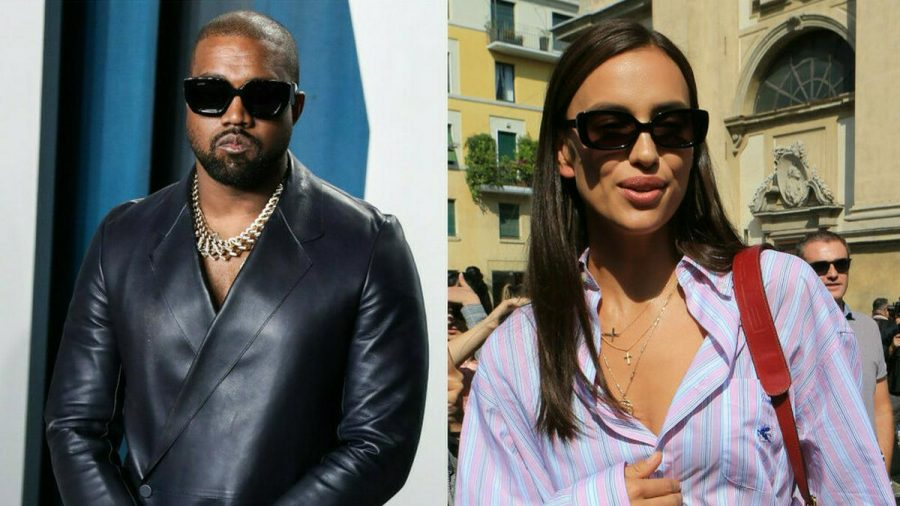 Kanye West und Irina Shayk waren zusammen in Frankreich. (aha/spot)