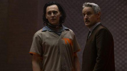 Loki (l., Tom Hiddleston) und Mobius M. Mobius (Owen Wilson) (rto/spot)