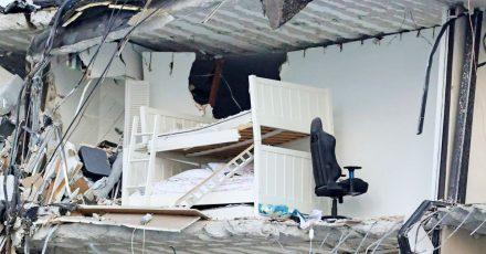 Wie viele Menschen sich zum Unglückszeitpunkt im Gebäude aufhielten, ist unklar.