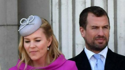 Peter Phillips und seine Frau Autumn im Jahr 2019 (wue/spot)