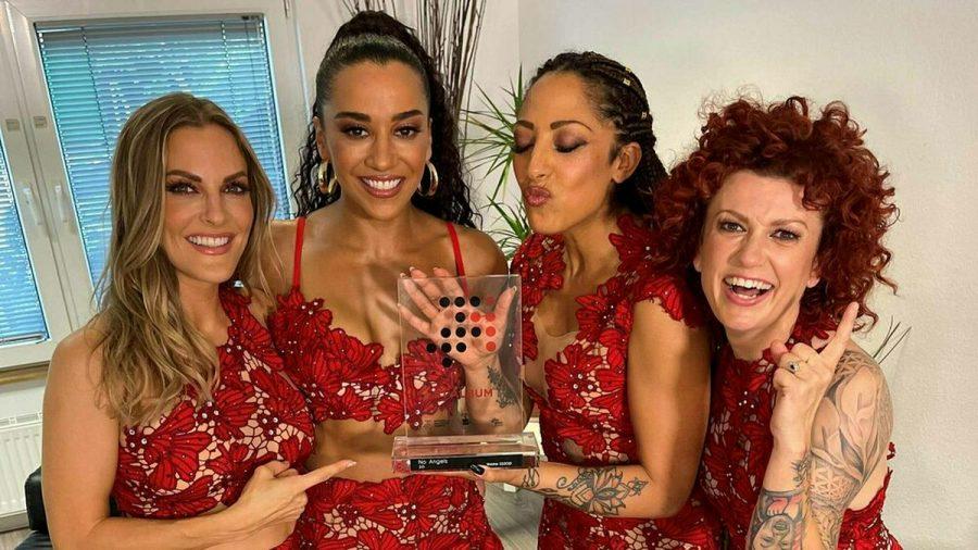 Die No Angels freuen sich über ihre Spitzenplatzierung in den Album-Charts (wue/spot)