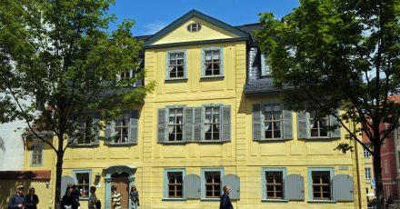 Das Schillerhaus in Weimar kann wieder besucht werden.