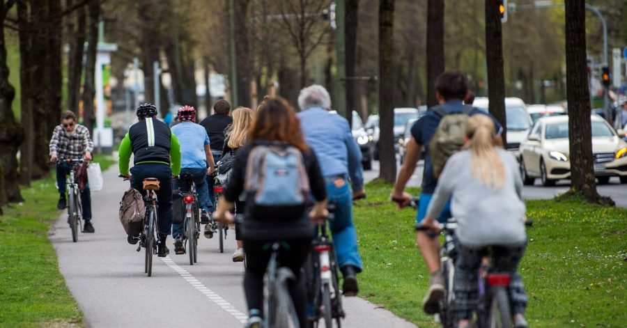Der Bund will den Bau von sicheren Radwegen weiter vorantreiben.
