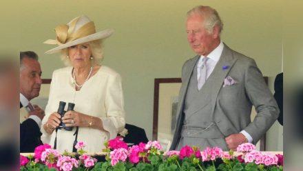 Ohne Namensschild: Prinz Charles und Herzogin Camilla am zweiten Tag von Royal Ascot 2021. (ncz/spot)