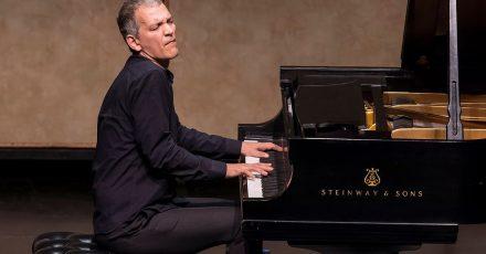Jazzpianist Brad Mehldau bei einem Konzert in Santa Barbara 2016.