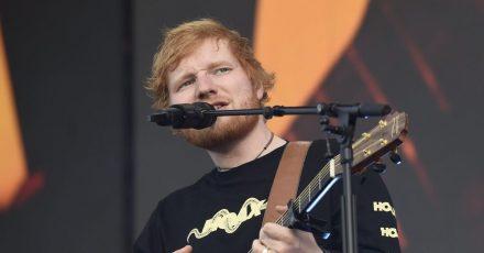 Ed Sheeran hat früh Bühnenerfahrung gesammelt.