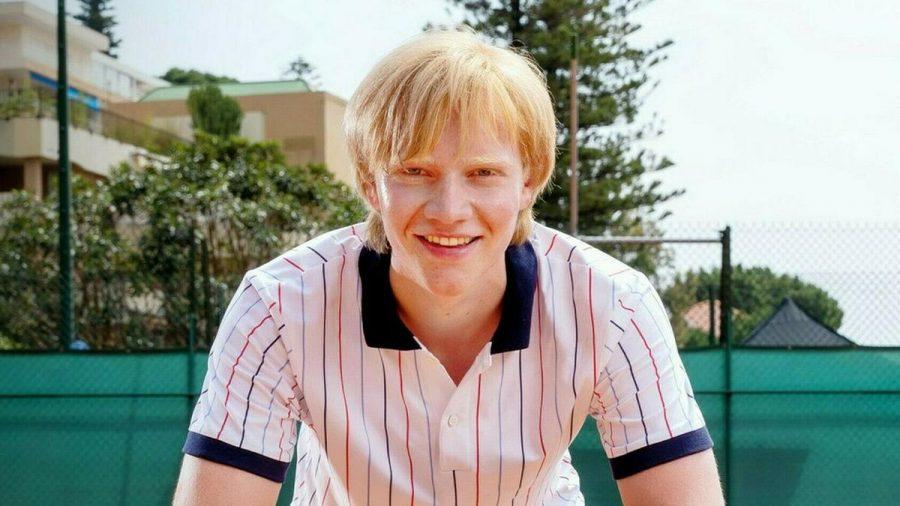 Der junge Boris Becker, dargestellt von Bruno Alexander (stk/spot)