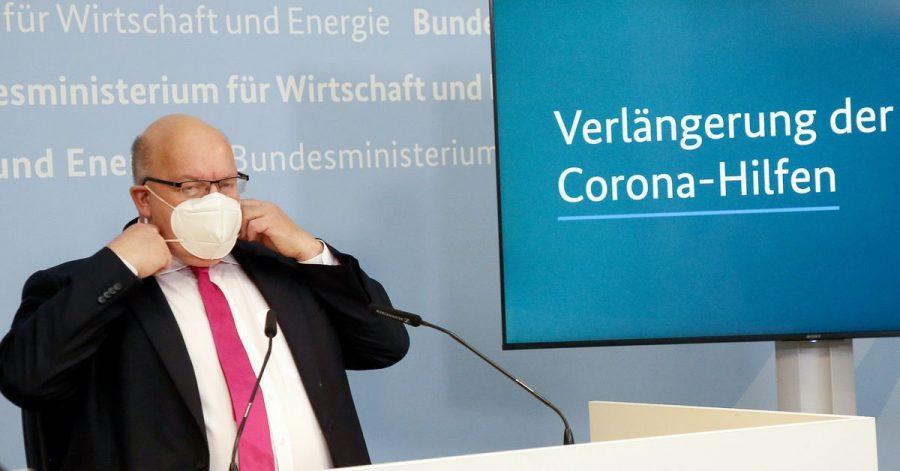 Corona-Wirtschaftshilfen und Kurzarbeitsregeln werden erneut verlängert.