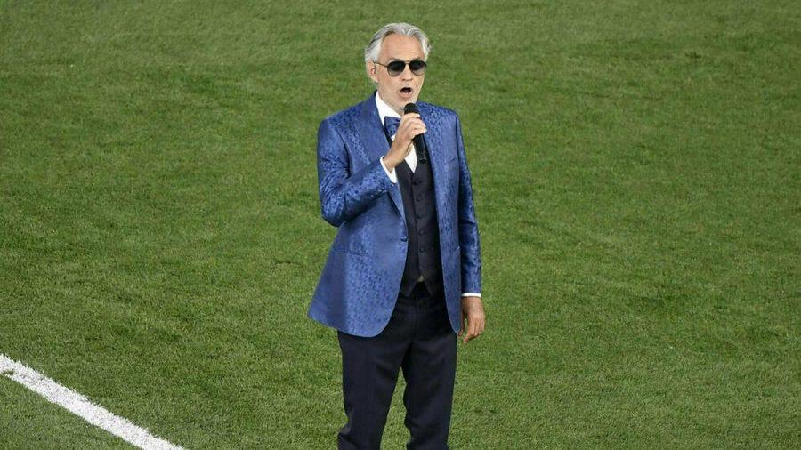 Andrea Bocelli bei der Eröffnungsfeier zur EM 2021 (wue/spot)