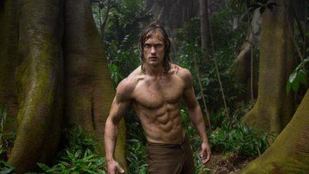 """""""Legend of Tarzan"""": Tarzan (Alexander Skarsgård) kehrt nach langer Zeit in den Urwald zurück. (cg/spot)"""