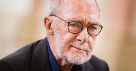 Der Star-Künstler Gerhard Richter.