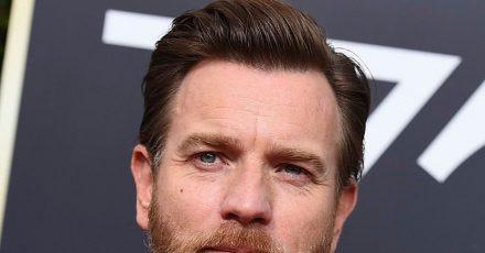 Der schottische Schauspieler Ewan McGregor 2018 bei den Golden Globes.