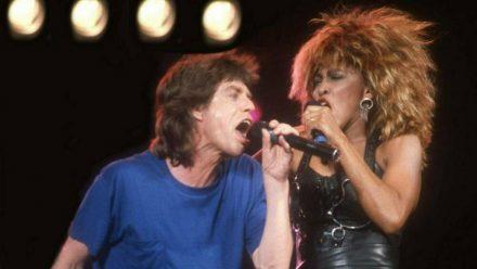 Mick Jagger und Tina Turner bei einem Auftritt 1986. (rto/spot)