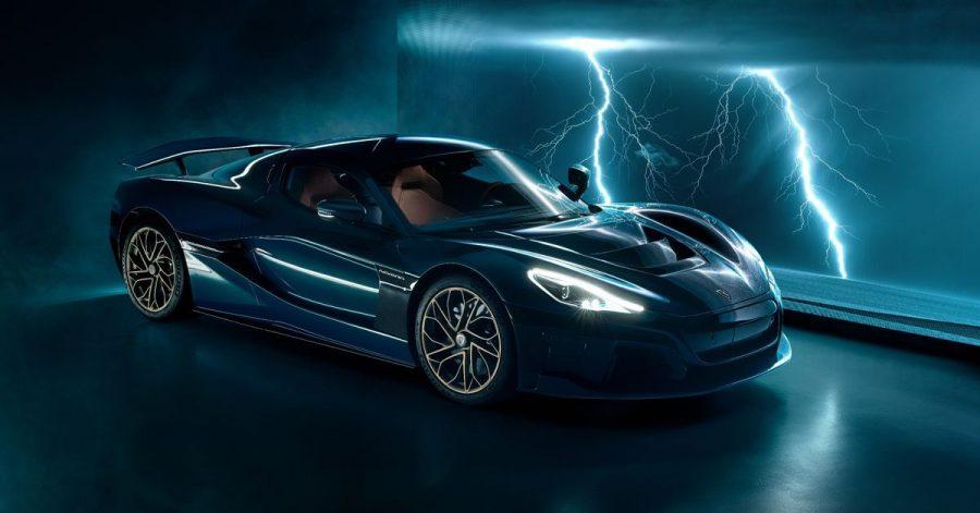 Blitzschnell: Auf über 400 km/h soll der elektrische Rimac Nevera seine Insassen katapultieren.