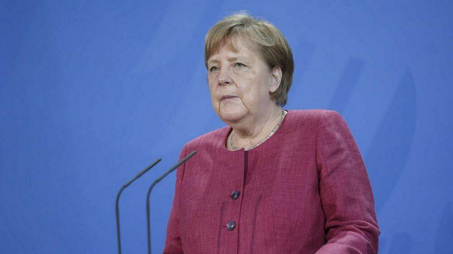 Angela Merkel drückt dem deutschen Team bei der UEFA EURO 2020 die Daumen. (dr/spot)