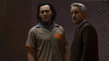 Loki (l., Tom Hiddleston) und Mobius M. Mobius (Owen Wilson) (wag/spot)