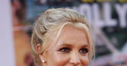 """Britney Spears, Sängerin aus den USA, kommt zur Premiere von """"Once Upon A Time in Hollywood""""."""