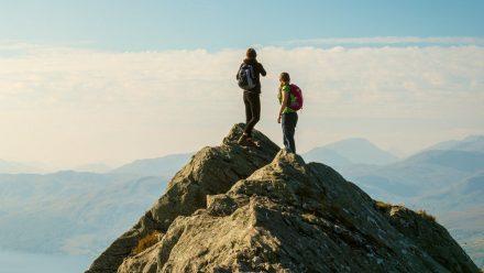 Beim Wandern ist eine gesunde Selbsteinschätzung gefragt. (amw/spot)