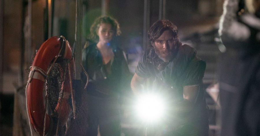 Regan (Millicent Simmonds) and Emmett (Cillian Murphy) in einer Szene aus «A Quiet Place 2»