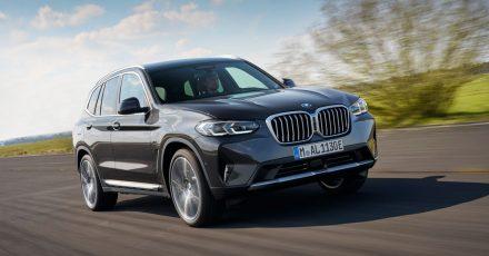 Seit 2017 am Start, spendiert BMW der dritten X3-Generation ein Facelift, das im August in den Handel kommt.