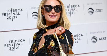 """Paris Hilton besucht die """"This Is Paris""""-Premiere während des 20. Tribeca Festivals in Hudson Yards."""