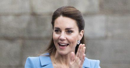 Herzogin Kate ist inzwischen Mutter von drei Kindern: George, Charlotte und Louis.
