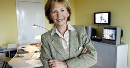 Maria von Welser in ihrem Büro im Landesfunkhaus.