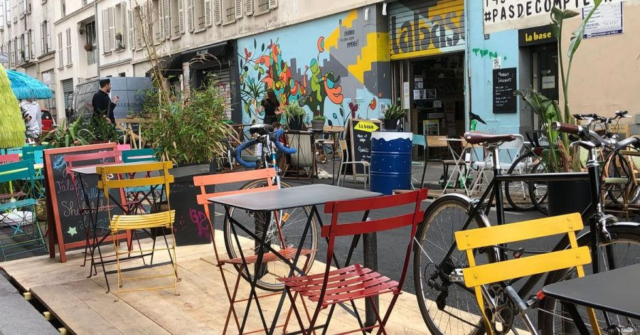 Seit der Corona-Pandemie ist ganz Paris gefühlt wie ein einziges Freiluft-Café - mit XXL-Terrassen.