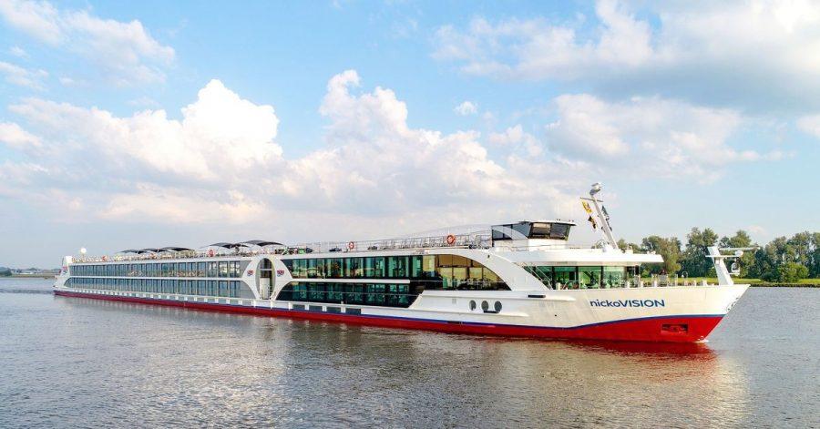 Die «Nicko Vision» bietet nun wieder Flusskreuzfahrten auf dem Rhein an.