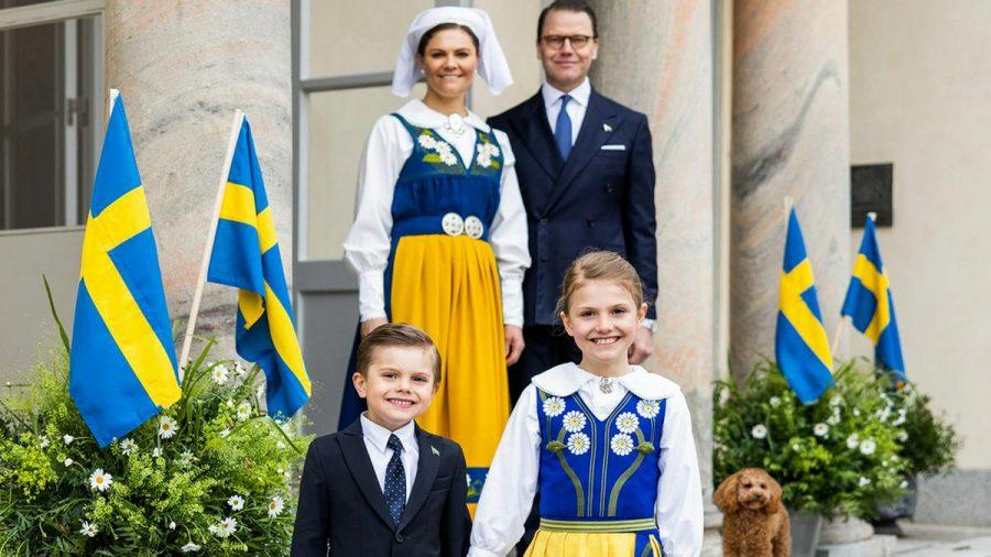 Victoria von Schweden mit ihrer Familie (hub/spot)