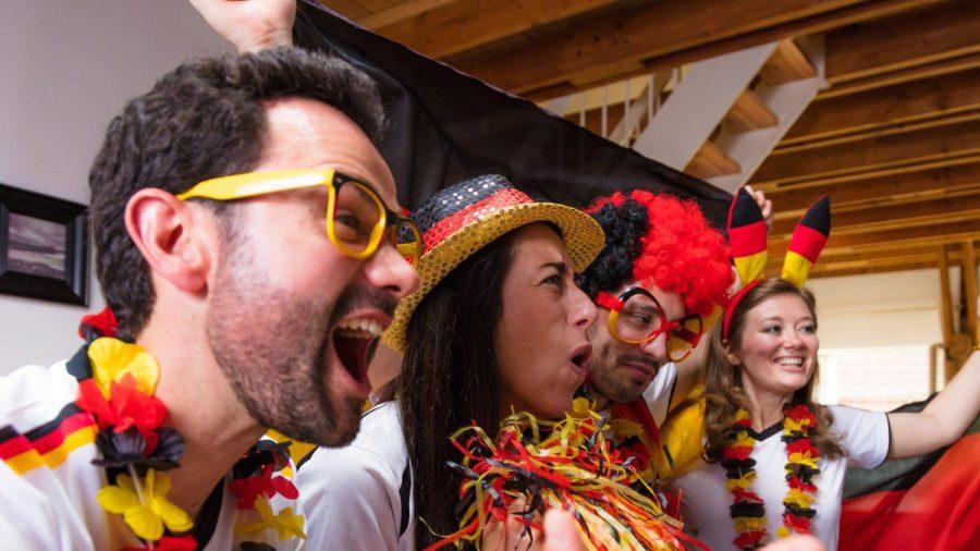 Dürfen die Fans der Nationalmannschaft gegen Frankreich jubeln? (elm/spot)