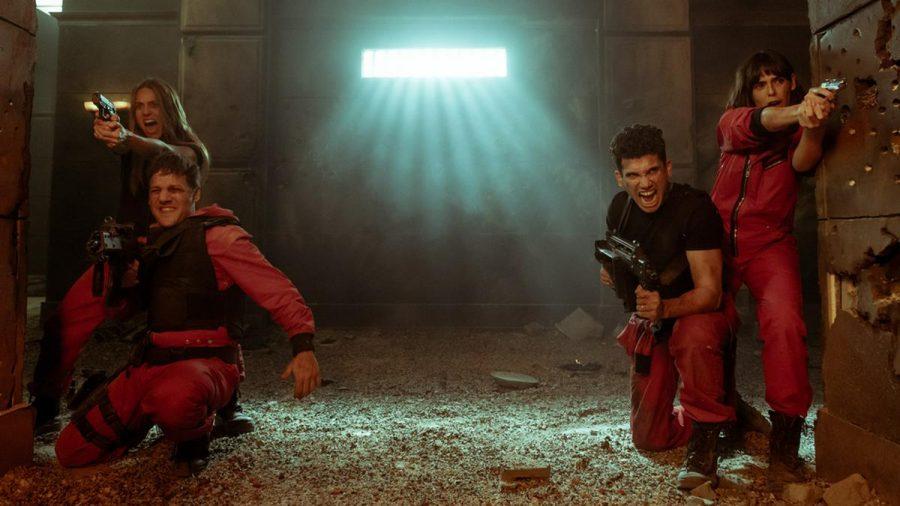 """Lissabon, Palermo, Denver und Manila in der fünften Staffel """"Haus des Geldes"""". (jom/spot)"""