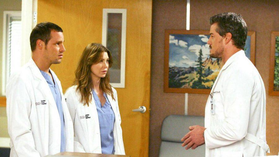 """In der dritten Staffel von """"Grey's Anatomy"""" standen sie erstmals gemeinsam vor der Kamera: Justin Chambers, Ellen Pompeo und Eric Dane (v.l.). (jru/spot)"""