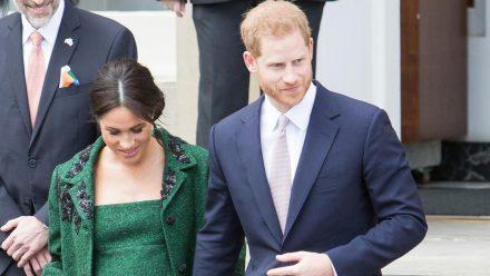 Prinz Harry und Herzogin Meghan vor rund zwei Jahren, als sie mit Archie schwanger war (wue/spot)