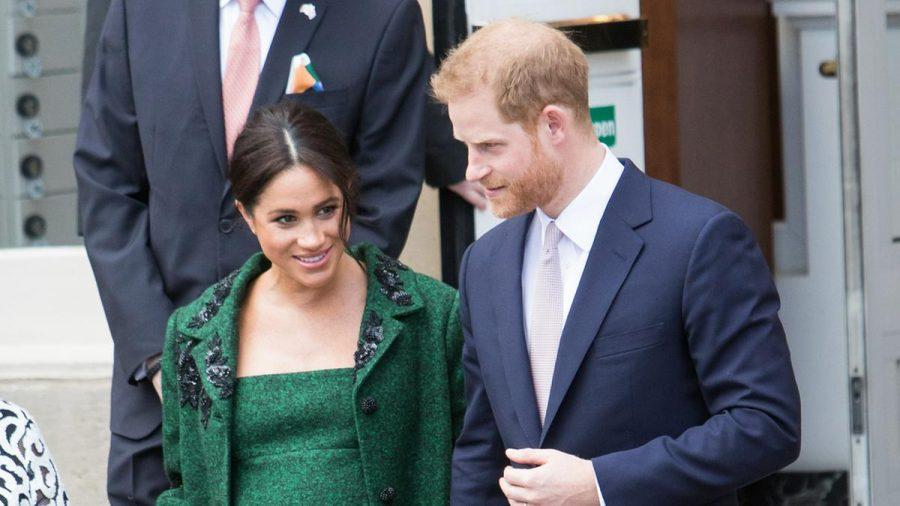 Prinz Harry und Herzogin Meghan im Jahr 2019, als sie noch mit Archie schwanger war. (wue/spot)