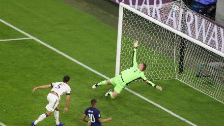 Deutschland hat das EM-Auftaktspiel gegen Frankreich verloren (hub/spot)